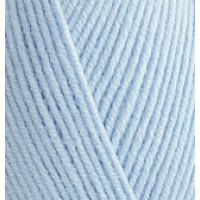 Пряжа Baby Best (Бейби Бест), ALIZE (Турция), 240м, 100гр, 10% бамбук, 90% акрил, 183 - Светло-голубой