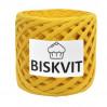 Трикотажная пряжа Biskvit Дыня, 330 +/-30 гр, 100 м, 100% хлопок, толщ. нити 7мм