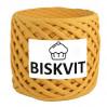 Трикотажная пряжа Biskvit Горчица, 330 +/-30 гр, 100 м, 100% хлопок, толщ. нити 7мм