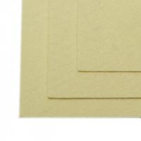 Фетр листовой супер жесткий 1мм 20х30см IDEAL цв.647 топ. молоко, 1 лист
