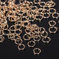 Кольцо соединительное 0,5*4мм (набор 50 шт +/-5 ) СМ-973, цвет светлое золото