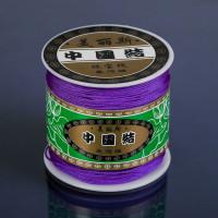 Шнур на бобине ШАМБАЛА длина 100м, толщина 0,8мм, цвет фиолетовый