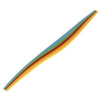 Бумага для квиллинга Яркие цвета 128747, 5 цветов, (набор 100 шт) 3 мм х 300 мм, 80 г/м2 4312602