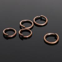 Кольцо соединительное 0,6*5мм (набор 50шт +/-) СМ-973, цвет медь