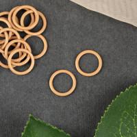 Кольцо для бретелей, 10 мм, 1 шт, цвет бежевый