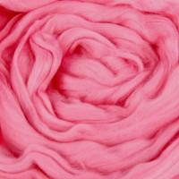 Шерсть для валяния и рукоделия Камтекс, 100% полутонкая шерсть, 50г, 056 - Розовый