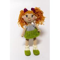 Набор для вязания игрушки Кукла Аленушка, размер 25*12 см