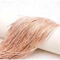 Канитель Гладкая 1 мм - арт. 148 розовое золото, уп. 5 гр (~2,7м)