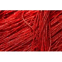Канитель Трунцал 1,5 мм - красная (арт. #00029), уп. 5 гр (~2,5 м)