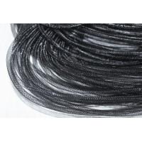 Регилин трубчатый 4 мм, 1м (черный)