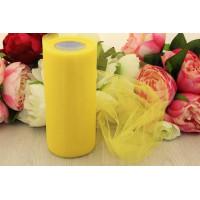 Фатин 15 см, желтый, 1м