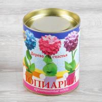 Набор для творчества топиарий малый Гортензия фиолетовая ТПМ-07