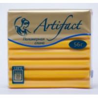 Пластика - полимерная глина Artifact 56г Классический 131 - желтый