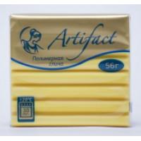 Пластика - полимерная глина Artifact 56г Классический 132 - лимонный