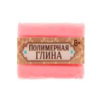 Полимерная глина, 15гр, цвет люминесцентный нежно-розовый