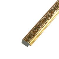 Багет пластиковый 18 мм х 13 мм х 2,9 м (Ш х В х Д) CD 1813–47 тёмное/светлое золото