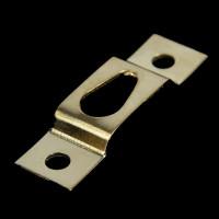 Подвес металл для картин, фоторамок золото 39х11мм, 1шт