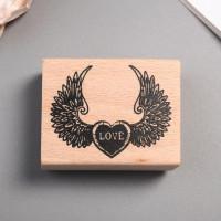 Печать для творчества Крылатое сердце