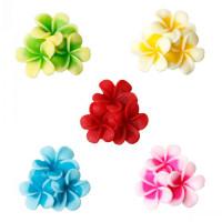 Декоративные Цветы (3 в 1) из смолы 23х20мм, 1шт