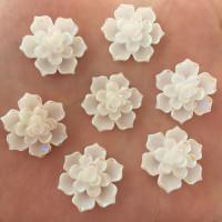 Декоративные Цветы из смолы 20мм, 1шт (K332)