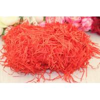 Соломка бумажная, 100 гр (красный)