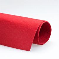 Фетр ср. жесткий, 100% полиэстер, A4 (20х28 см), красный