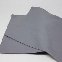 Фетр средней жесткости 1мм 20х30см - Серый, 1 лист