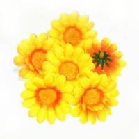 Головка ромашки 5см, жёлтый, 1шт