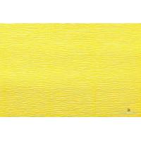 Гофра 50х250 см, Италия, 180гр - 575 Желтый лимон