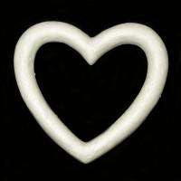 Сердце контур из пенопласта 230мм