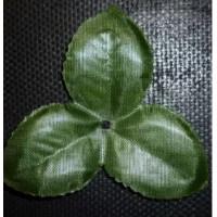 Чашелистик трехконечный 10см зелёный (3 листика размером 5 см), 1шт