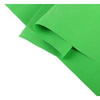 Фоамиран иранский 0,8-1 мм (зелёный лайм/118) 60х70 см 2638890