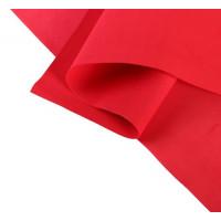 Фоамиран иранский 0,8-1 мм (красный/135) 60х70 см 2638871