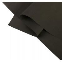 Фоамиран иранский 0,8-1 мм (чёрный/195) 60х70 см 2638881