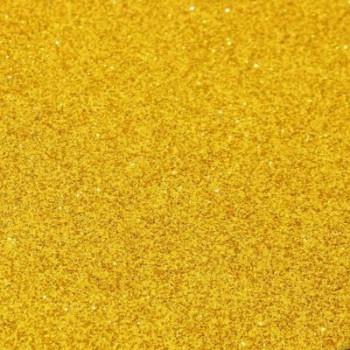 Глиттерный фоамиран, толщина 2мм, 20х30 см - золотой, 1 лист