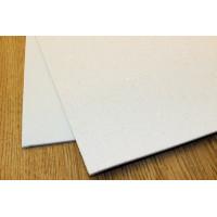 Глиттерный фоамиран, толщина 2мм, 20х30 см - белый перламутровый, 1 лист