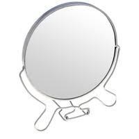 Зеркало двухсторонее с увеличением на 1 стор. 7`` 17 см