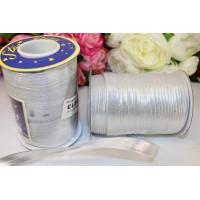 Косая бейка 14-15мм 1м, серебро