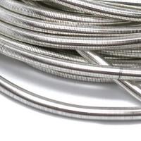 Канитель мягкая 3 мм - арт. 1186 серебро, уп. 5 гр (~0,3м)