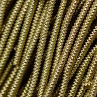 Канитель витая Зиг-заг 1,5 мм - 6139 античная бронза, уп. 5 гр (~1,1 м)