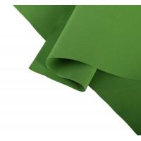 Фоамиран иранский 0,8-1 мм (тёмно-темно-зелёный/182) 60х70 см, 1 шт.