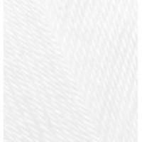 Пряжа Diva (Дива), ALIZE (Турция), 350м, 100гр, 100% микрофибра - 55 Белый