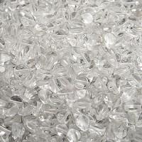 Pinch Beads (Гречка) - Бусины чешские стеклянные 5х3мм, 00030 - хрусталь прозрачный (50шт)