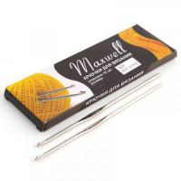 Крючок для вязания 2.0мм - 12см - Maxwell - металлический, 1 шт
