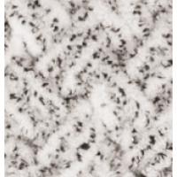 Пряжа Puffy (Пуффи), ALIZE (Турция), 9,2м, 100гр, 100% микрополиэстер, 686 - Белый леопард