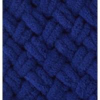 Пряжа Puffy (Пуффи), ALIZE (Турция), 9,2м, 100гр, 100% микрополиэстер, 360 - темно-синий