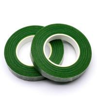 Флористическая тейп-лента, 306 - темно-зеленый, 13мм х 27м
