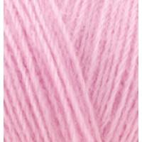 Пряжа AngoraGold (Ангора голд), ALIZE (Турция), 550м, 100гр, 10% мохер,10% шерсть, 80% акрил - 185 Розовый