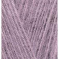 Пряжа AngoraGold (Ангора голд), ALIZE (Турция), 550м, 100гр, 10% мохер,10% шерсть, 80% акрил - 312 Сирень пыльная