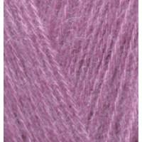 Пряжа AngoraGold (Ангора голд), ALIZE (Турция), 550м, 100гр, 10% мохер,10% шерсть, 80% акрил - 28 Сухая роза